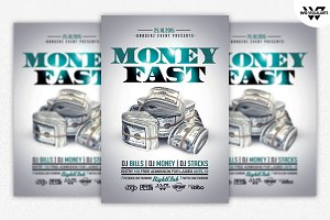 MONEY RICH Flyer Template