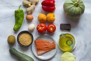 Healthy food (real food)