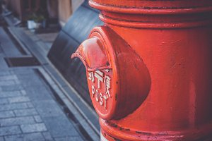 Retro Post Box
