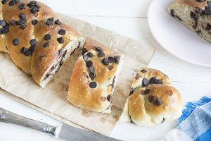 Brioche of bread