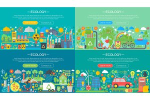 Environment Protection Eco concept