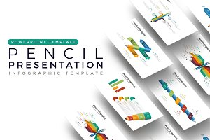 Pencil Presentation - Infographic