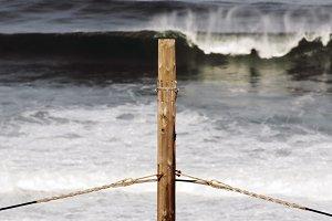 voltage pole and rough sea 2
