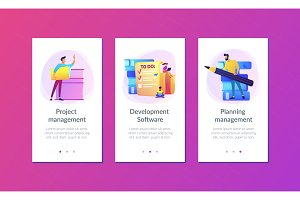 Task management it app interface