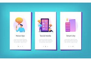 Social media and news tips app