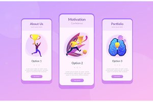 Confidence and winning concept app