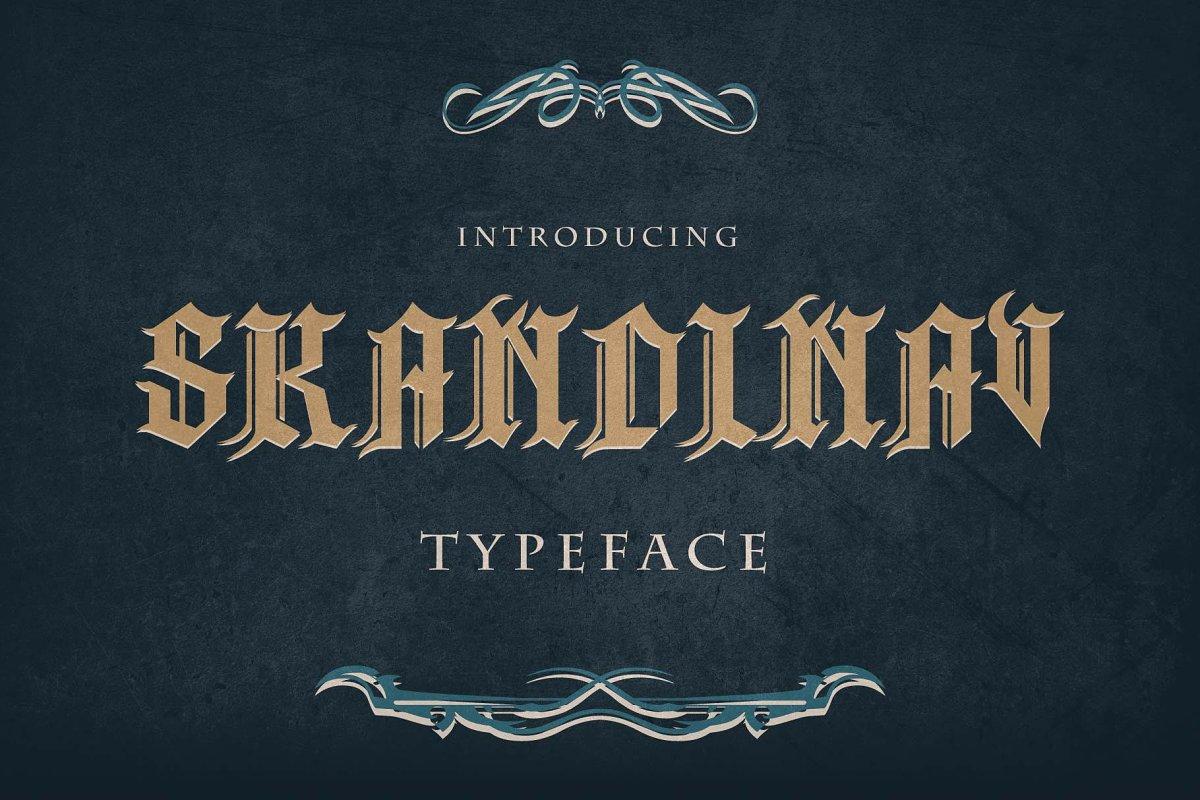 Skandinav Typeface + Extras