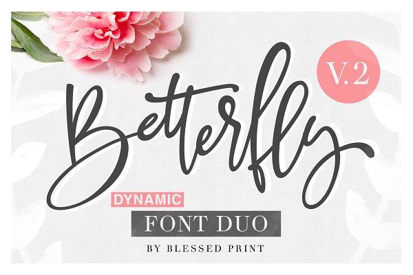 BetterFly 2 - Dynamic Font Duo