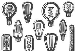 Vintage Lightbulbs Collection