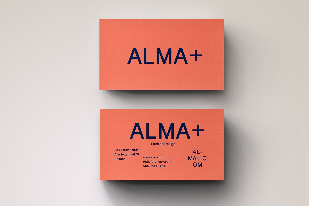 Graphic Business Card Design
