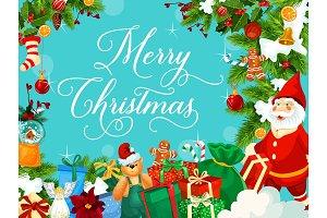 Santa, Christmas gifts