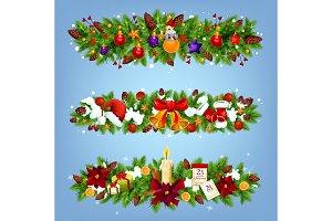 Christmas festive garland