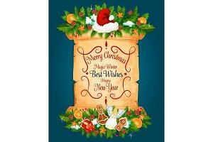Christmas New Year holiday