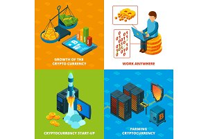 Cryptocurrency mining. Electronic