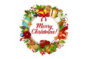 Christmas banner, Xmas greeting