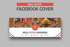 Real Estate Facebook Cover - SK