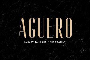 Aguero Sans - Font Family