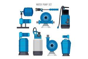 Water pump system. Aqua treatment