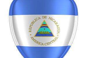 Nicaragua flag icon.