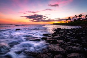 Sunset on Kauai