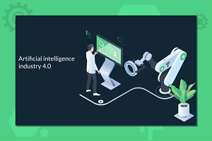 Artificial intelligence industry 4.0