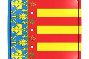 Valencia flag icon