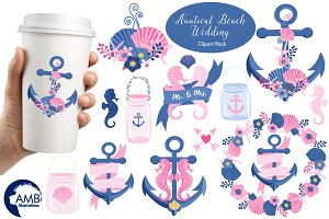 Nautical Beach Clipart AMB-1393