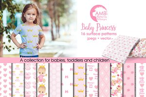 Baby Girl Papers AMB-1436