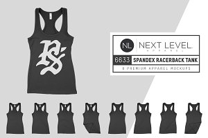 Next Level 6633 Spandex Racerback