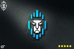 Lion Robot Logos