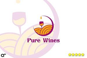 Pure Wines Logos