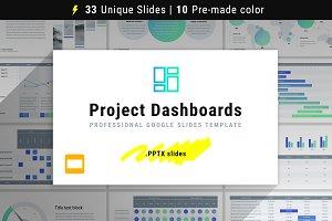 Project Dashboards for Google Slides