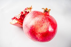 Fresh raw pomegranate