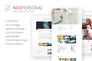 Neo Personal PSD Theme