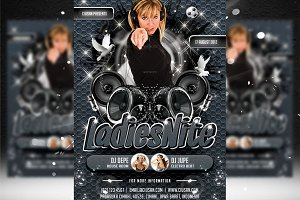 Ladies Nite Flyer Template