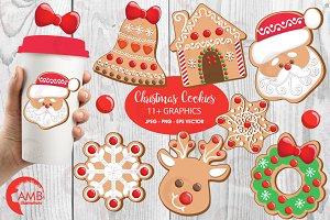 Xmas Cookies Clipart AMB-1539