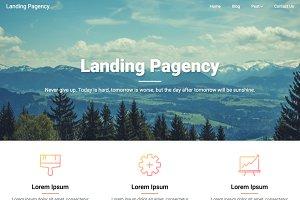 Landing Pagency Premium