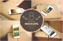 Vintage iPhone5 Mockups
