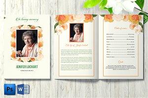Floral Funeral Template V22