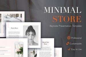 Minimal Store Keynote Template