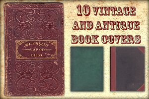10 Vintage and Antique Book Covers