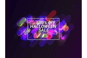 Sale for Halloween