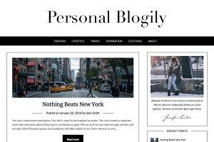 Personal Blogily Premium