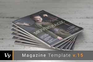 Movie Magazine Template