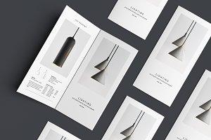C E N T R E — Trifold Brochure