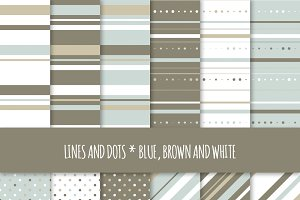 Seamless Patterns: Dots and Stripes