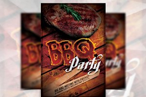 BBQ Party - Flyer Template