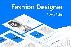 Fashion Designer PowerPoint Template