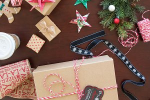 Chritsmas Gift wrapping