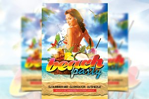 Beach Party - Flyer Template
